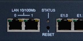 Резервный 100/1000 Base-T Ethernet порт и LED индикация
