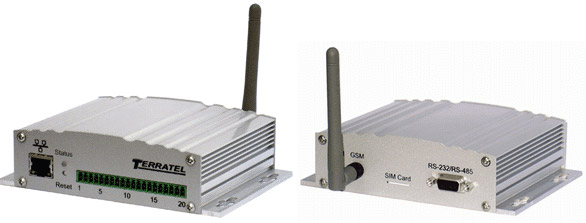 Устройство дистанционного мониторинга и контроля датчиков - внешний вид панелей, фото